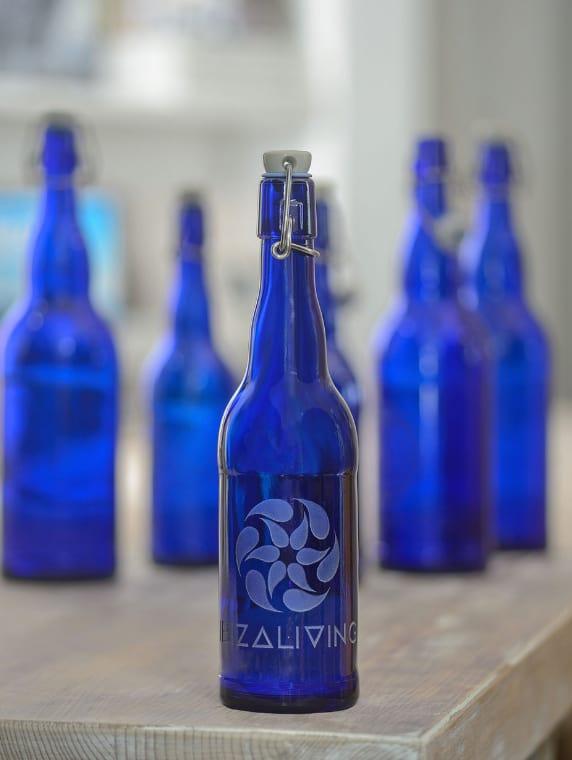 IBIZALIVING Bottle- Water is Life is Love