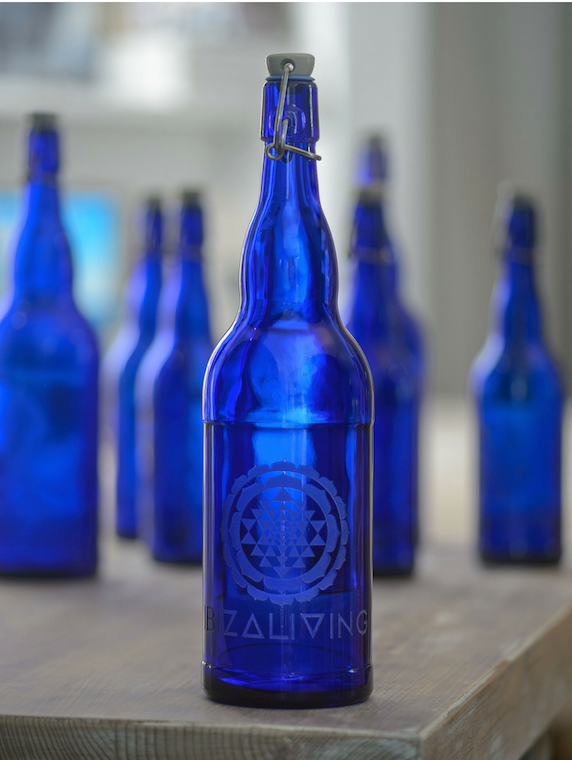 IBIZALIVING Bottle- Sri Yantra