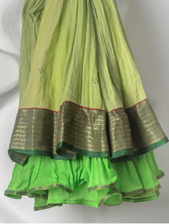 Naksha Skirt - pistachio